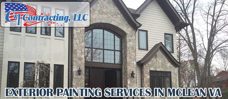 Exterior Painting Services in Mclean VA