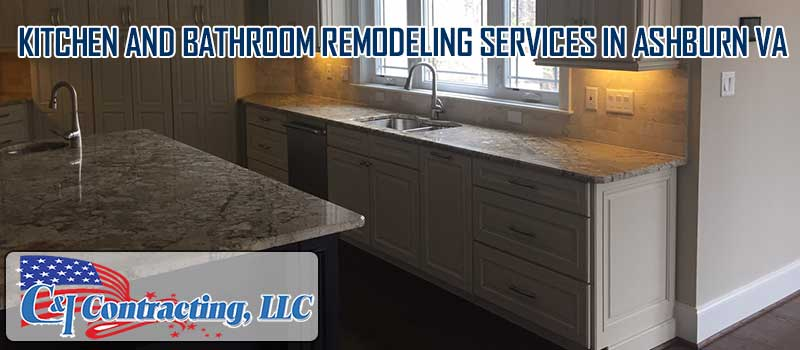 Kitchen and bathroom remodeling services in Ashburn VA